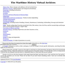 The Maritime History Virtual Archives