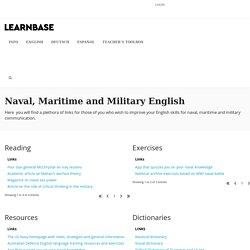 Naval, Maritime and Military English – LearnBase