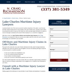 Lake Charles Maritime Injury Lawyers