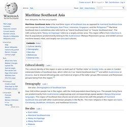 Maritime Southeast Asia