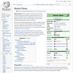 Marius Trésor