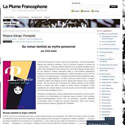 Analyse de la BD, Persepolis (site La Plume Francophone)