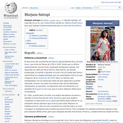 Marjane Satrapi