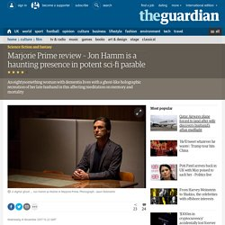 Marjorie Prime review – Jon Hamm is a haunting presence in potent sci-fi parable