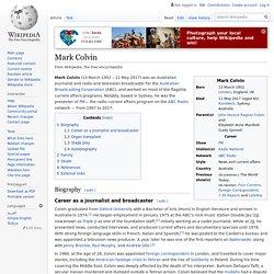 Mark Colvin