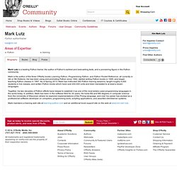 Online Catalog: Mark Lutz