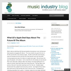 Music Industry Blog