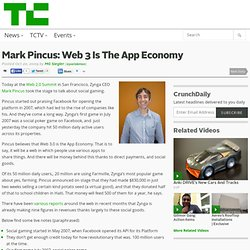Mark Pincus: Web 3 Is The App Economy
