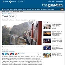 Mark Smith in Thazi, Burma