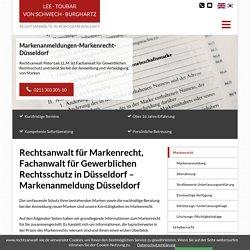 Anwalt für Markenanmeldung und Markenrecht in Düsseldorf - Anwaltskanzlei Peter Lee LL.M. - Düsseldorf