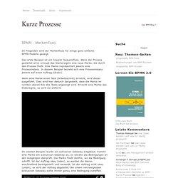 BPMN – Markenfluss - Kurze Prozesse