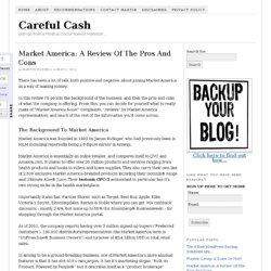 Market America: A Review Of The Pros And Cons — Careful Cash