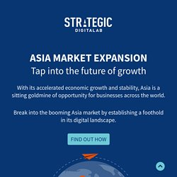 Market Expansion Services in Asia