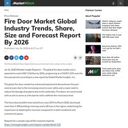 Fire Door Market Global Industry Trends, Share, Size and Forecast Report By 2026