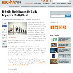 New to the Job Market? Here Are the Skills Employers (Really) Want