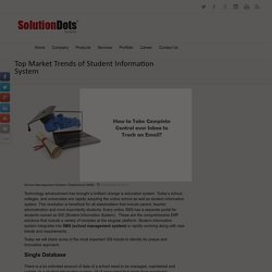 Top Market Trends of Student Information System -