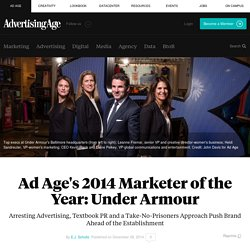 Ad Age's 2014 Marketer of the Year