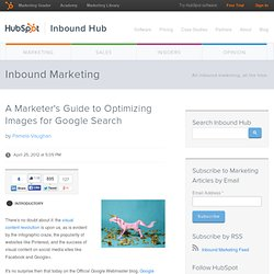 A Marketer's Guide to Optimizing Images for Google Search