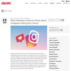What Marketers Need to Know about Instagram Hiding like Counts