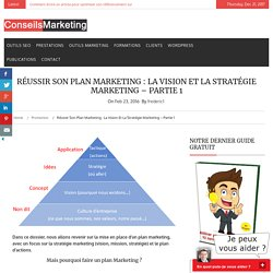 Réussir son Plan Marketing : la Vision et la Stratégie Marketing - Partie 1ConseilsMarketing.fr