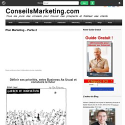 Plan Marketing - Partie 2