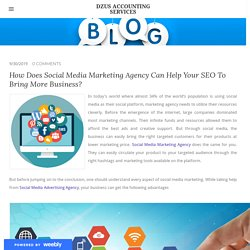 Get Help in Your SEO with Social Media Marketing - DZUS ACCOUNTING SERVICES