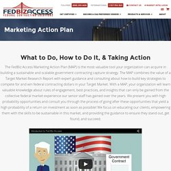 Marketing Action Plan - FedBiz Access