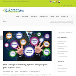 How can Digital Marketing Agencies help you grow your business in US? - Acreaty.us