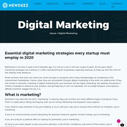 Digital Marketing Solution To Grow Your Business : New Deez