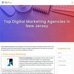 Top Digital Marketing Agencies In New Jersey - Topfirms