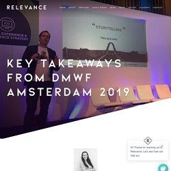 Digital Marketing World Forum Amsterdam: Takeaways