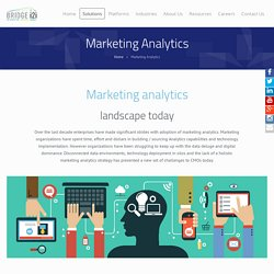 Marketing Management Analytics Solutions