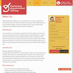 Marketing Appointment Setting