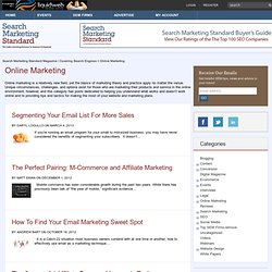 Online Marketing | Search Marketing Standard