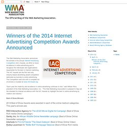 Web Marketing Association Update