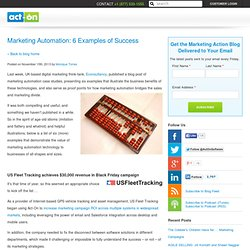 Marketing Automation Blog - Act-on