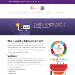Marketing Automation Software Marketo - Carmatec Inc