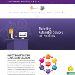 Marketing Automation Services and Solutions