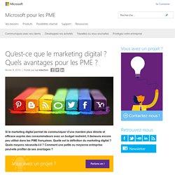 Qu'est-ce que le marketing digital ? Quels avantages pour les PME ? - Microsoft pour les PME