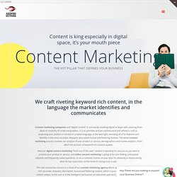Content marketing agency in Bangalore, Coimbatore
