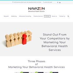 Marketing Behavioral Health Services - Three Phases of Marketing