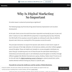Why Is Digital Marketing So Important – bitaacademy