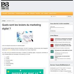 Quels sont les leviers du marketing digital ? - BtoBMarketers.fr