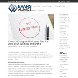 How a 360-degree Marketing Plan Can Build Your Business and Brand