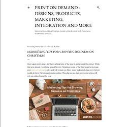 Marketing tips for growing business on Christmas - Shirtee.Cloud/Blog