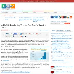 8 Mobile Marketing Trends You Should Track In 2012