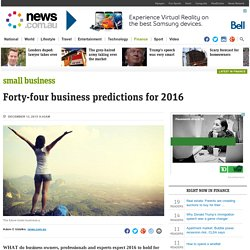 Mobile, marketing and business trends: Predictions for 2016