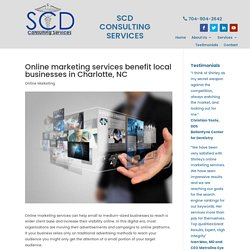 Online marketing services are a benefit to businesses in Charlotte, NC