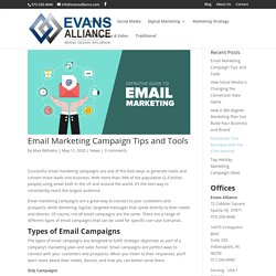 Email Marketing Campaign Tips Challenges and Tools