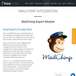 Marketing Campaigns with MailChimp